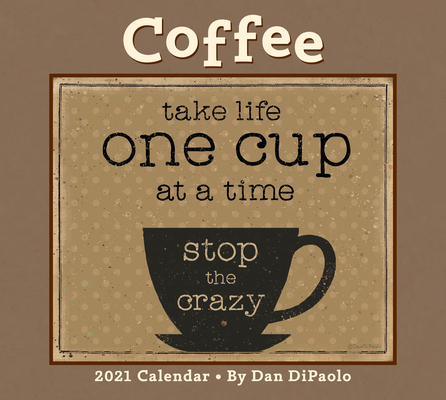 Image for Coffee 2021 Deluxe Wall Calendar