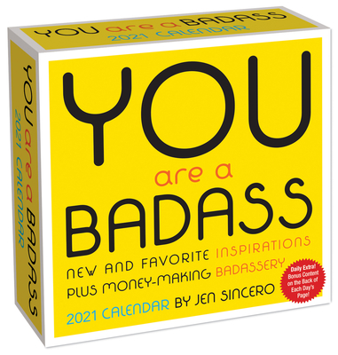 Image for You Are a Badass 2021 Day-to-Day Calendar