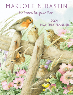 Image for Marjolein Bastin Nature's Inspiration 2021 Large Monthly Planner Calendar