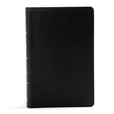 Image for KJV Large Print Personal Size Reference Bible, Black Leathertouch