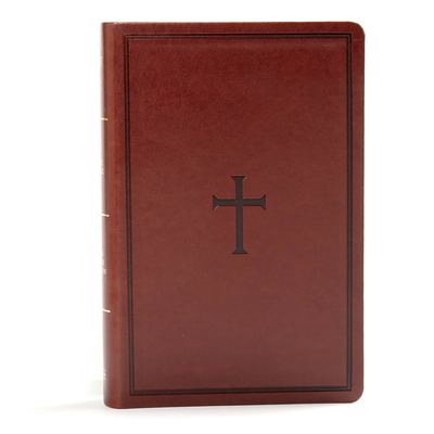 Image for KJV Large Print Personal Size Reference Bible, Brown Leathertouch