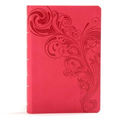 Image for KJV Large Print Personal Size Reference Bible, Pink Leathertouch