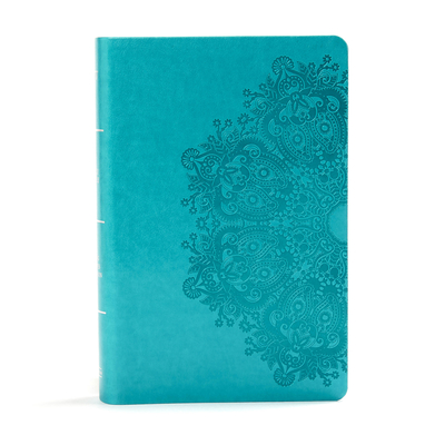 Image for KJV Large Print Personal Size Reference Bible, Teal Leathertouch
