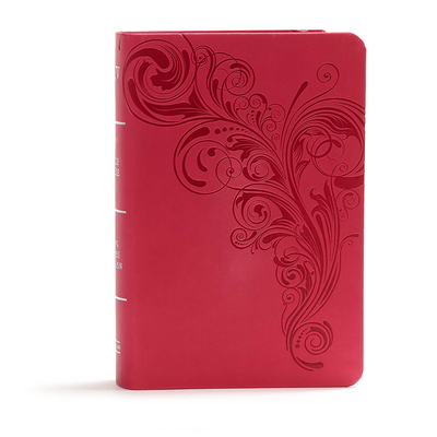 Image for KJV Large Print Compact Reference Bible, Pink LeatherTouch