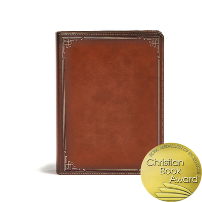 Image for CSB Ancient Faith Study Bible, Tan LeatherTouch