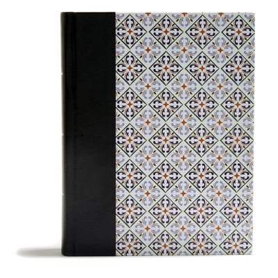 Image for CSB Legacy Notetaking Bible, Spanish Tile LeatherTouch-Over-Board
