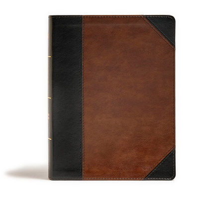 Image for CSB Tony Evans Study Bible, Black/Brown LeatherTouch