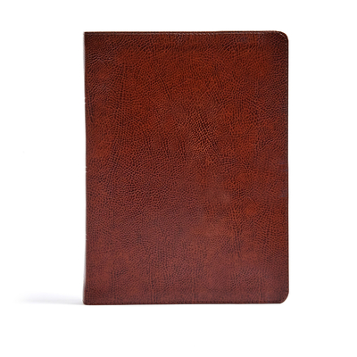 Image for CSB Verse-by-Verse Reference Bible, Brown Bonded Leather