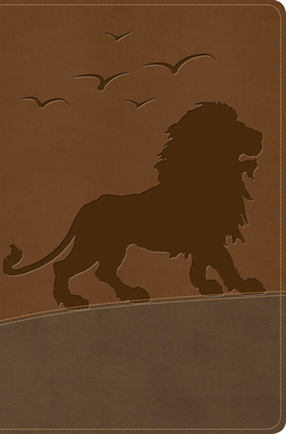 Image for KJV One Big Story Bible, Brown Lion LeatherTouch