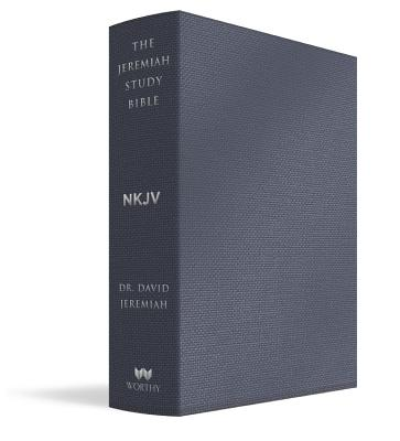 Image for The Jeremiah Study Bible, NKJV: Majestic Black LeatherLuxe®: What It Says. What It Means. What It Means For You.