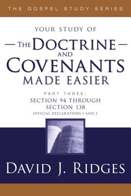 Image for Doctrine and Covenants Made Easier: Part 3