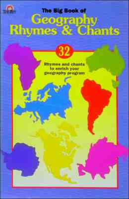 Image for Big Book of Geography Rhymes and Chants