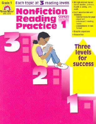 Image for Nonfiction Reading Practice, Grade 1