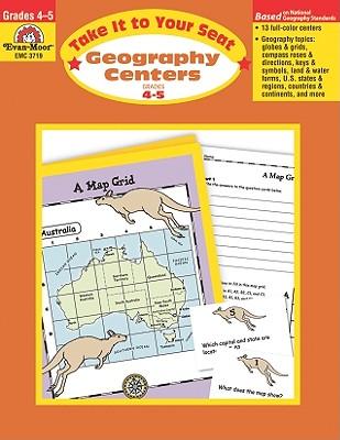 Geography Centers, Grades 4-5, Sandi Johnson (Author)