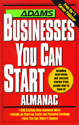 Image for Adams Businesses You Can Start Almanac