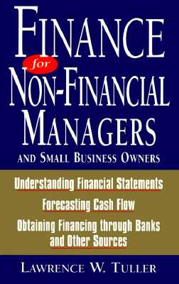 Image for Finance for Non-Financial Managers: And Small Business Owners