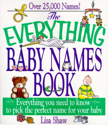 Image for EVERYTHING BABY NAMES BOOK