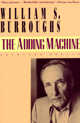 Image for The Adding Machine: Selected Essays