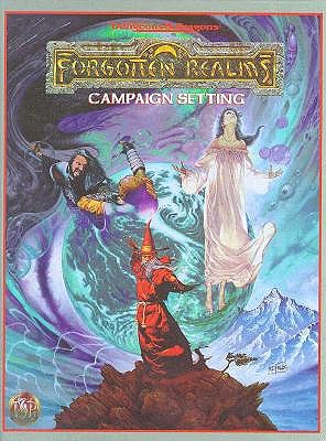 FORGOTTEN REALMS CAMPAIGN (ADVANCED DUNGEONS & DRAGONS, 2ND EDITION), ADVANCED DUINGEONS & DRAGONS 2ND EDITION