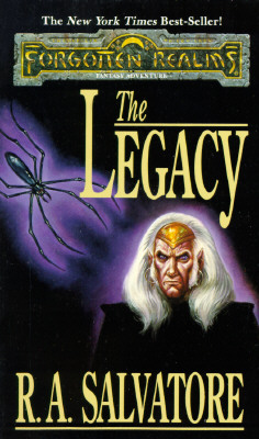 Image for The Legacy  (Forgotten Realms: Legacy of the Drow, Book 1)