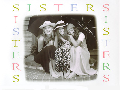 Image for SISTERS PHOTOS BY WOHLMUTH, SHARON
