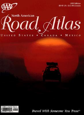 Image for AAA 1999 NORTH AMERICAN ROAD ATLAS (AAA NORTH AMERICAN ROAD ATLAS)