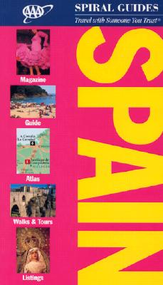 Image for AAA Spiral Guide: Spain