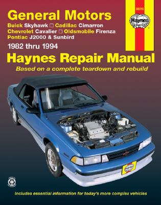 Image for GENERAL MOTORS J-CARS 1982-1994 AUTOMOTIVE REPAIR MANUAL