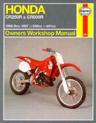 Image for Honda CR250R  &  CB500R 1986 -- 1997 Owners Workshop Manual