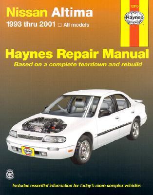 Haynes Nissan Altima 1993-2001 Repair Manual, Chilton