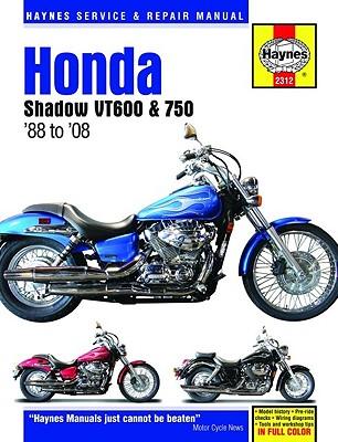 Image for Honda Shadow VT600 & 750: '88 to '08 (Haynes Service & Repair Manual)