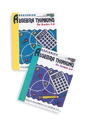 Image for Beginning Algebra Thinking, Grades 3 to 4