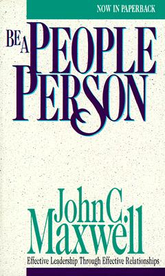 Image for BE A PEOPLE PERSON