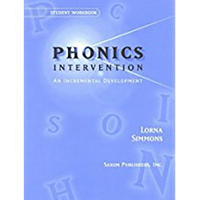 Image for Saxon Phonics Intervention: Student Workbook