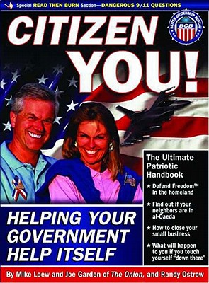 Image for Citizen You!: Helping Your Government Help Itself