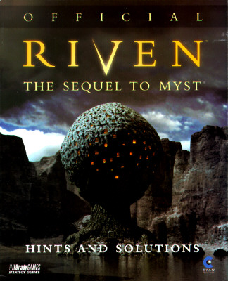 Image for OFFICIAL RIVEN HINTS AND SOLUTIONS THE SEQUEL TO MYST