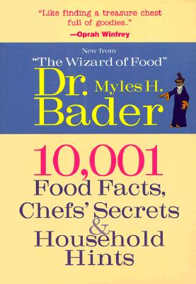 Image for 10,001 Food Facts, Chefs' Secrets & Household Hints