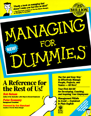 Image for Managing for Dummies