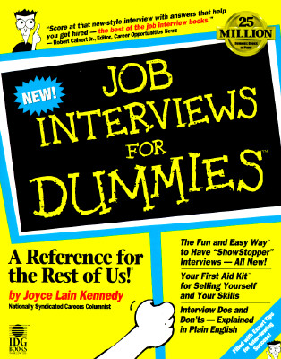Image for Job Interviews For Dummies