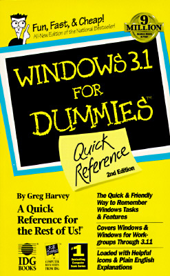 Image for Windows 3.1 for Dummies: Quick Reference
