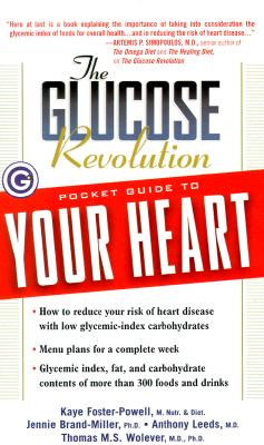 Image for The Glucose Revolution Pocket Guide to Your Heart