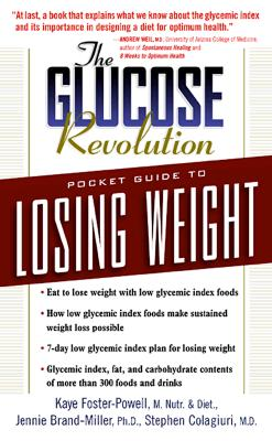 Image for The Glucose Revolution Pocket Guide to Losing Weight