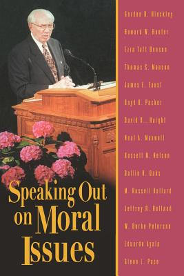 Image for Speaking Out On Moral Issues