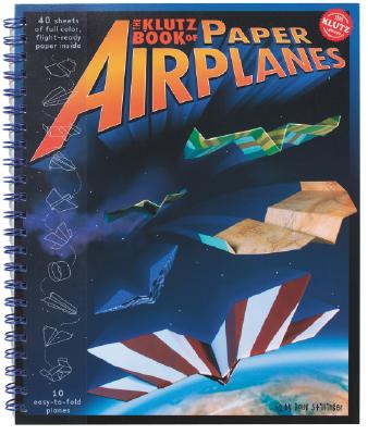 Image for KLUTZ BOOK OF PAPER AIRPLANES