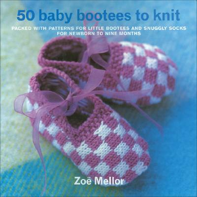 Image for 50 Baby Bootees to Knit