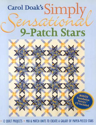Image for Carol Doak's Simply Sensational 9-Patch Stars