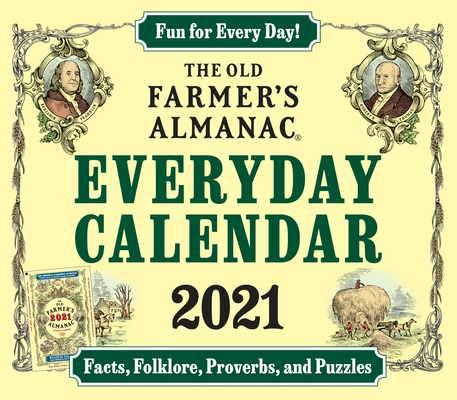 Image for The 2021 Old Farmer's Almanac Everday Calendar
