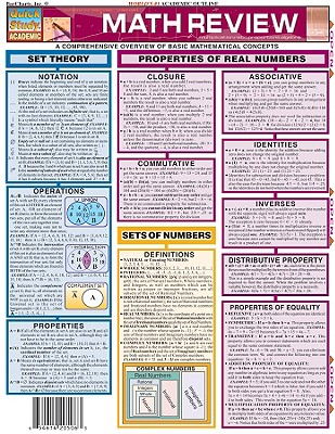 Image for Math Review (Quickstudy Reference Guides - Academic)