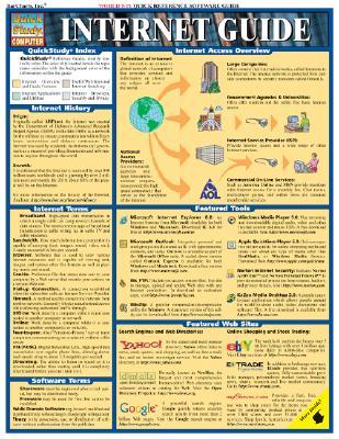 Internet Guide (Quickstudy: Computer), BarCharts, Inc.