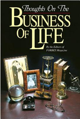 Image for Thoughts on the Business of Life